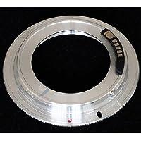 Pixtic - Bague d'adaptation [AF-Confirm] pour les objectifs M42x1 vers les boitiers Canon EOS à monture EF/EF-S
