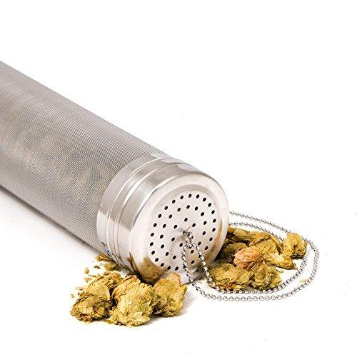 Schweinswal Brauen Hop Filter • 300Mikron Edelstahl Dry Hopper Filter Bildschirm für Homebrew