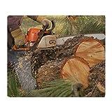 Cafepress–legno cutter–morbida coperta in pile, 127x 152,4cm, stadio coperta, White, 50x60