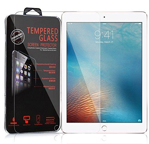 Preisvergleich Produktbild Cadorabo Panzer Folie für Apple iPad PRO (9, 7 Zoll) - Schutzfolie in KRISTALL KLAR – Gehärtetes (Tempered) Display-Schutzglas in 9H Härte mit 3D Touch Glas Kompatibilität