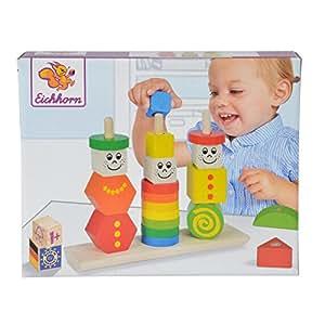 Holz-Steckplatte Eichhorn 100002087 NEU inklusive Stecksymbole Spielware