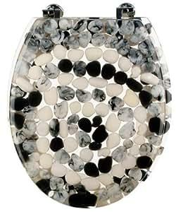 Toilettendeckel wc sitz wc deckel sanwood stone steine for Steine baumarkt