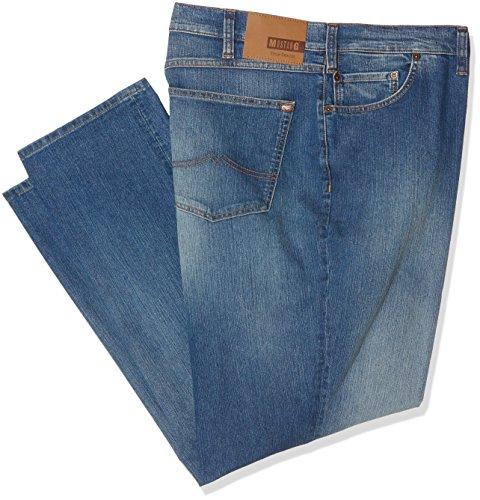 MUSTANG Herren Jeanshose Big Sur, Blau (Super Stone 058), W46/L34 (Herstellergröße: 4634)