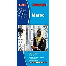 Maroc, Carte Routière et Touristique