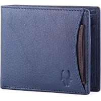 WildHorn Blue Leather For Men - Bifold Wallets