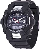 Veens Analogue-Digital Black Dial Men Wa...