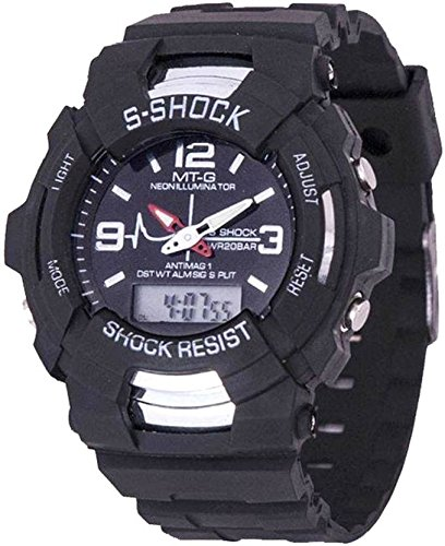 veens S Shock Analogue Digital Mens&Boys Watch Small  available at amazon for Rs.219