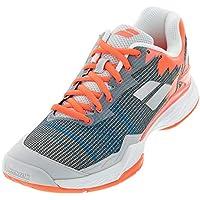 sports shoes 66369 9c710 Babolat Hombres Jet Mach I Allcourt Zapatillas De Tenis Zapatilla Todas Las  Superficies Gris - Naranja