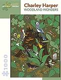 Charley Harper Woodland Wonders 1000-Piece Jigsaw Puzzle Aa907
