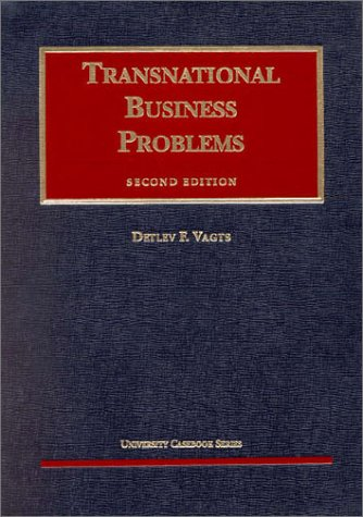 Transnational Business Problems 1998 (University Casebook Series)