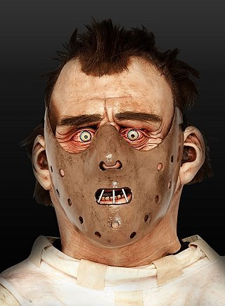 Karneval / Kostüm - Original Hannibal Lecter (Kostüm Irrenanstalt Halloween)