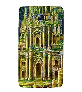 Fuson Premium Back Case Cover Palace With yellow Background Degined For Samsung Galaxy Grand Neo::Samsung Galaxy Grand Neo i9060