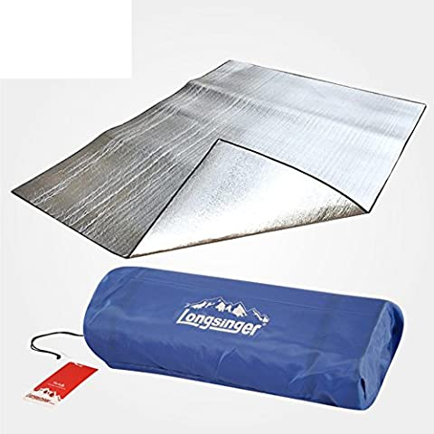 double thick mat/Two-sided aluminum foil camping outdoor cushion/ mat-A