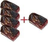 Schwarzwälder Schinken DAS ORIGINAL 4 +1 GRATIS | 5x 750g | Geschützte geografische Angabe | von Hand gewürzt | von Hand geschnitten | schwarzwälder Schinken am Stück von Schweinehinterschinken nach ORIGINAL schwarzwälder Schinken rezept - JETZT KAUFEN!