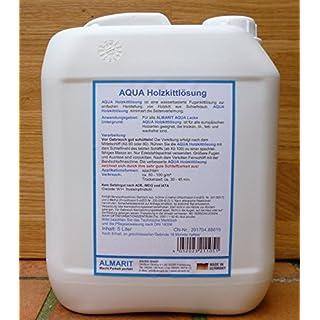 Aqua Holzkittlösung 5 Liter Inhalt