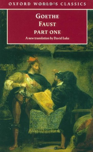 Faust: Part One: Pt.1 (Oxford World's Classics) by J. W. von Goethe (1998-09-10)