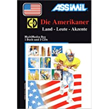 Die Amerikaner (1 livre + coffret de 3 CD) (en allemand)