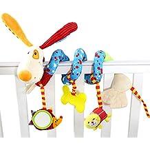 Happy Cherry Jouet d'éveil Spirale activité Suspendre Berceau Jouet Poussette Twisty Frisé Lit Pendaison Décor Jouet de premier pas pour bébé fille garçon oiseau maison