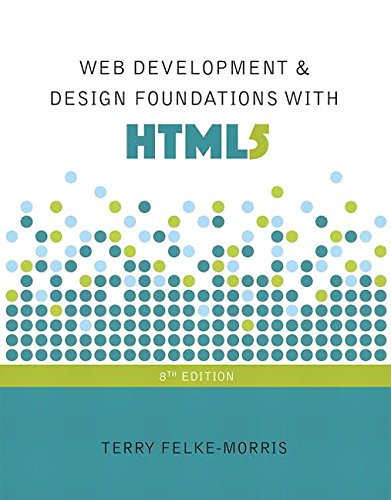 pdf free Web Development and Design Foundations with HTML5