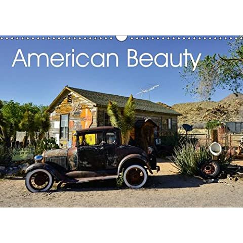 American Beauty (Wall Calendar 2017 DIN A3 Landscape): Oldtimer on the Route 66 (Monthly calendar, 14 pages) - America Del Wall Calendar