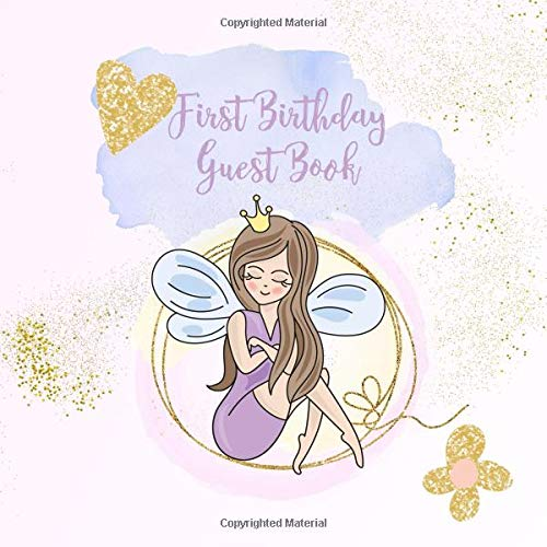 Book: Lilac Fairy Keepsake Book for Family and Friends to Write in ()