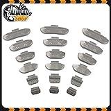 5-30g Pesos Surtido para llantas de aluminio 150 Unidades (je 25 de 5g, 10g, 15g, 20g, 25g und 30g)