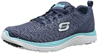 Catch people's eye with these beautiful trainers. Style your feet in comfort with these Skechers Valeris Knit Trainers that are constructed with a light weight upper to assist in keeping your feet cool when needed. These trainers are supported with a...