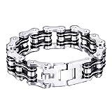 HFJ&YIE&H Mode masculine Chain Bracelet en acier inoxydable personnalisé bijoux 1 ,...