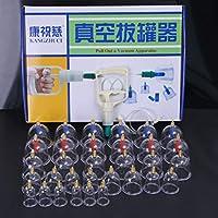 Kays Schröpfen Set Chinesische Schröpfen Therapie Set, 32 Vacuum Air Suction Cups Mit Pumpen Griff, Massage Behandlung... preisvergleich bei billige-tabletten.eu