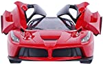Bring on this full function radio controlled Ferrari car from the hub of Safire for your little princess or naughty prince. It functions forward, reverse, stop, left and right turn overs. It exhibits all independent spring suspension system. This hot...