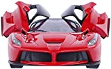 #1: Saffire Remote Controlled Ferrari with Opening Doors, Red