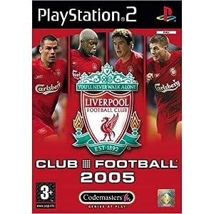 Liverpool FC Club Football 2005 – Playstation 2 (Englisch)