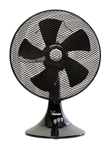BIMAR ELETTRODOMESTICI Ventilatore tavolo noir p30 vt366ne 45w bimar