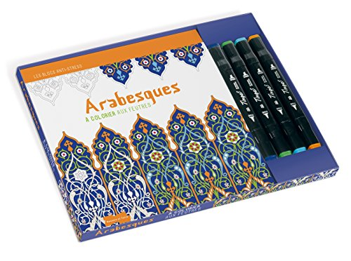 Arabesques à colorier aux feutres