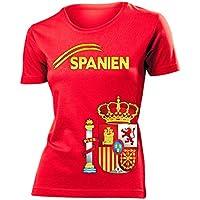 SPANIEN FANSHIRT - Damen T-Shirt Gr.S bis XXL - Golebros