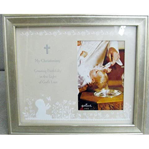 Hallmark-FRG7064 My Christening 4 X 6 Photo Frame