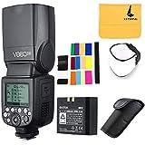Godox V860IIN i-TTL 2.4G GN60 HSS Kamera Speedlite Blitzgerät Blitz mit 2000mAh Akku Für Nikon D800 D700 D7100 D5200 D5000 D300 D3100 D200 D70s D810 D610 D90 D750 Kamera(V860II-N)