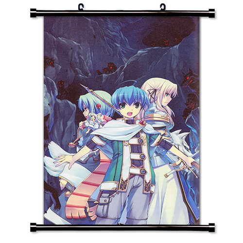 CIMA the Enemy Anime Fabric Wall Scroll Poster (16 x 25) Inches