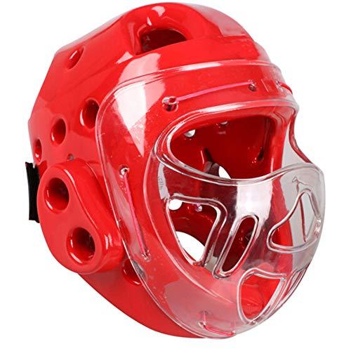Protector para la cabeza de boxeo, protector de sombreros de entrenamiento de artes marciales, protector...