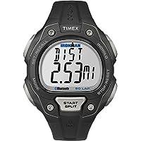 Timex TW5K86500 Orologio da Polso, Quadrante Digitale da Uomo, Cinturino in Resina, Nero/Nero