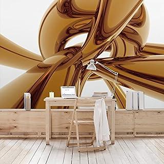 APALIS Non-Woven Wallpaper Golden Brilliance Photo Wallpaper Wide, Brown, 94656669072Photo Wallpaper Wall Mural (1374992