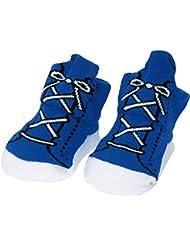 Chaussettes Bébé Baskets Multicolores Coffret de 6 paires assorties Taille 0-3 mois La chaise longue