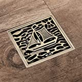 ZYT Abfluss Antike Messing Integriert . antique copper