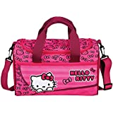 Bolsa de deporte scooli Hello Kitty, 35 x 16 x 24 cm bolsa de deporte aproximadamente, 8 litros, Rosa