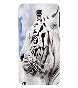 ColourCraft White Tiger Look Design Back Case Cover for SAMSUNG GALAXY NOTE 3 NEO N7505