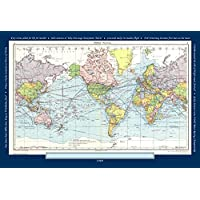 Butler and Hill World Map Jigsaw Puzzle featuring a map of the world from 1969
