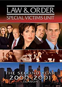 Law & Order: Special Victims Unit - Second Year [DVD] [1999] [Region 1] [US Import] [NTSC]