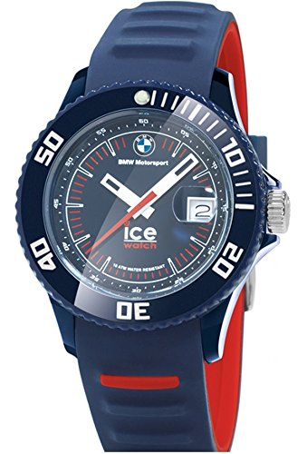 Price comparison product image BMW Genuine Motorsport Unisex ICE Wrist Watch Silicone Strap Waterproof