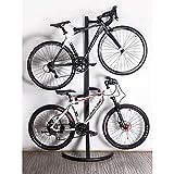 XB AMZ Fahrradständer Indoor 2 Fahrräder Halter Speicher, Platzsparende Fahrradständer, Fahrrad Hängende Höhe Verstellbar.
