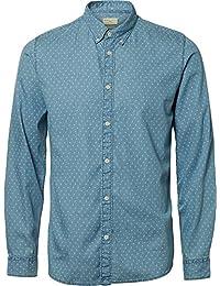 SELECTED HOMME Herren Freizeithemd Shhone-Nolanprint Shirt Ls